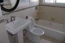 bathtub and toilet installations